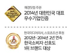 2014 대한민국 대표 우수기업인증